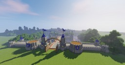 Stormwind City Build Minecraft Map & Project