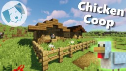 Chicken Coop! with tutorial Minecraft Map & Project