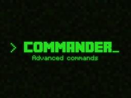Commander Minecraft