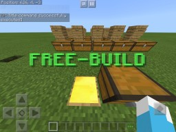 Free-Build Minecraft Map & Project