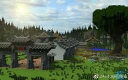 【FrostDew】Ye Town Minecraft Map & Project