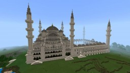 Ottoman Blue Mosque! Minecraft Map & Project
