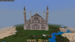 [Realms Server View!] Ottoman Blue Mosque! Minecraft Map & Project