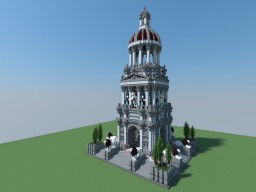 The Mausoleum of Halicarnassus - Wonder of the Minecraft World Minecraft Map & Project