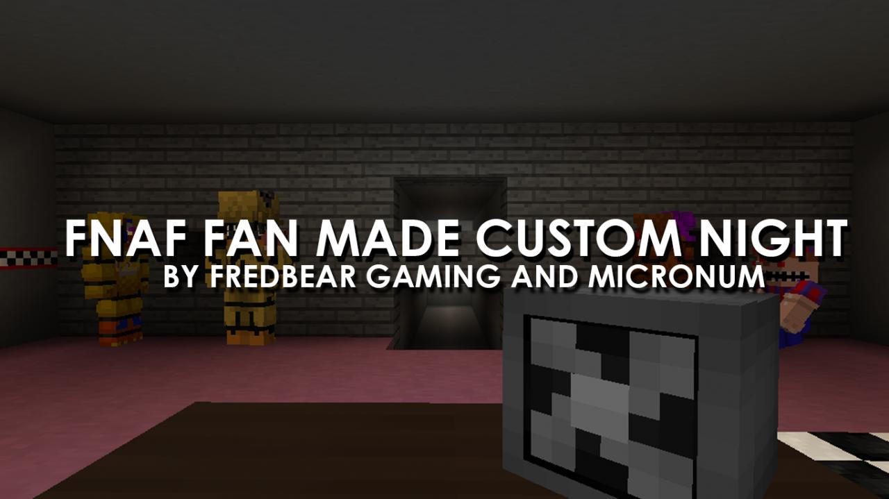 Five Nights at Freddy's Fan-Made Custom Night (MC RP