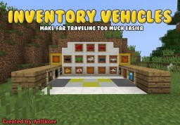 Inventory Vehicles v1.3.0 [MC 1.12.2] Minecraft Mod