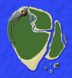 Jurassic Park Island Minecraft Map & Project