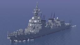 JMSDF DD Asahi Minecraft Map & Project
