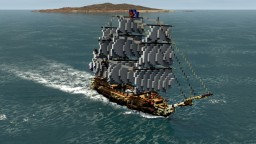 French Frigate - La Renommée 1744 Minecraft
