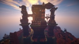 Steampunk Castle Minecraft Map & Project