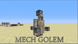The Mech Golems Minecraft Map & Project