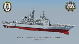 USS Chancellorsville CG-62 Minecraft Map & Project