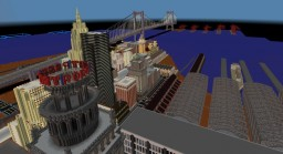 North Port area of Vineria Beach Minecraft Map & Project
