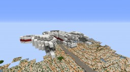Futuristic Missile Bomber Minecraft Map & Project