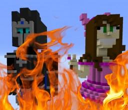 Pat & Jen Burning Map! Minecraft Map & Project