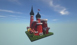Queen Of Hearts Castle Minecraft Map & Project