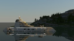 A | Super Yacht  [1:1 Scale][Download] Minecraft Map & Project