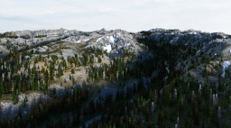 Payette National Forest | Mountains | Idaho Minecraft Map & Project