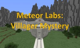 Meteor Labs: Villager Mystery Minecraft Map & Project