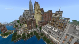Reline City v2 ported to Bedrock Edition Minecraft Map & Project