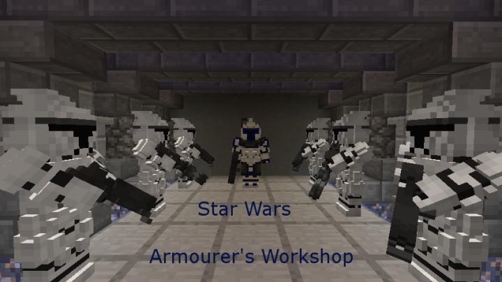 Popular Mod : Star Wars content pack for Armourer's Workshop