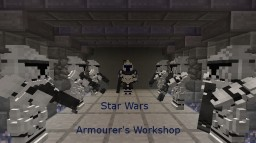Star Wars content pack for Armourer's Workshop Minecraft Mod