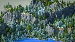 Titan's Creek [1000 x 1000 Custom Terrain] Minecraft Map & Project