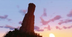 OneChunkBuilds: Tower Minecraft Map & Project