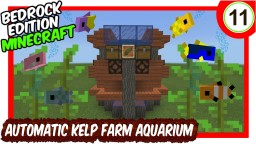 Automatic Kelp Farm Aquarium Minecraft Map & Project