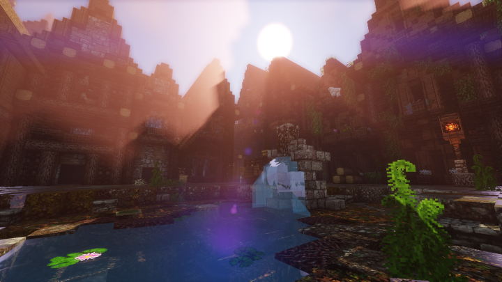 Popular Server Project : Yhelin, the Medieval Metropolis.