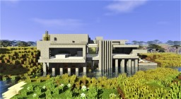 Lake villa Minecraft Map & Project