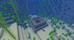 Underwater XP Farm / Secret Base Minecraft Map & Project