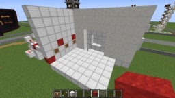 4x4 Security Vault Door Minecraft Map & Project