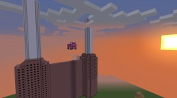 """Battersea Power Station from """"Animals"""" Pink Floyd Cover Minecraft Map & Project"""