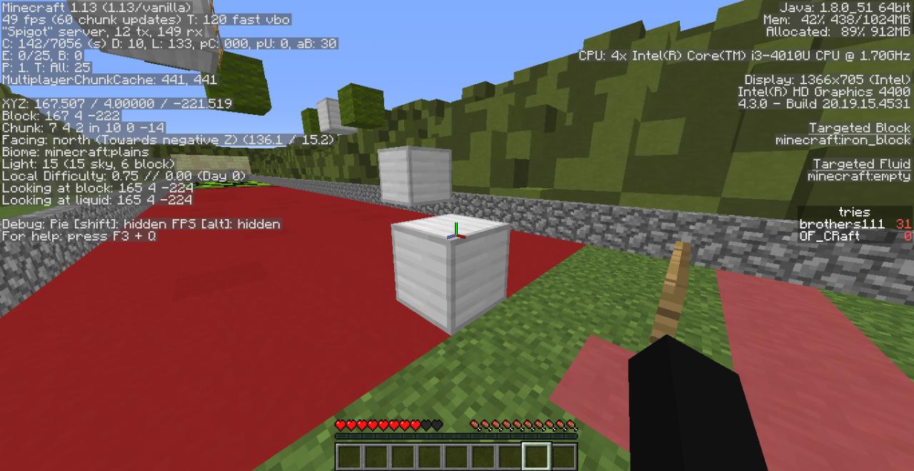 Unfair Creeper Re Upload ( zip) Minecraft Project