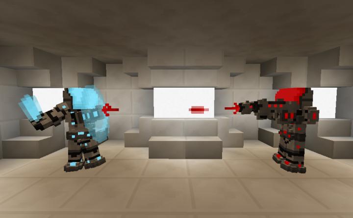Flans Futuristic Pack - Футуристическое оружие и броня