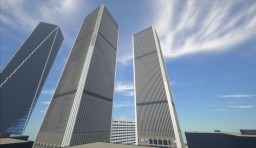 World trade center towers Minecraft