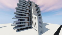 """Modern Hotel/appartments"" By ClemsDX - Schematic Minecraft"