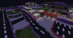 Purple Electro Festival Minecraft Map & Project