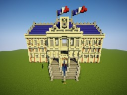 Embassy of France Minecraft Map & Project