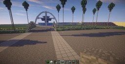 LAX Airport Los Angeles Minecraft Map & Project