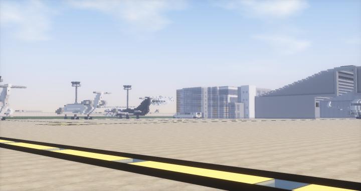 Executive Jets hub and hangar