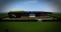Minimalist Black House (MBH) - Luffly [SCHEMATIC DOWNLOAD !] Minecraft Map & Project