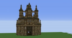 - Fantasy cathedral skyscraper - Gelek - Minecraft