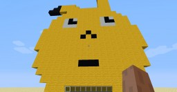 A big crappy Pikachu Minecraft Map & Project