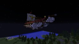 IRA Caesar Roman Galley Airship Minecraft Map & Project