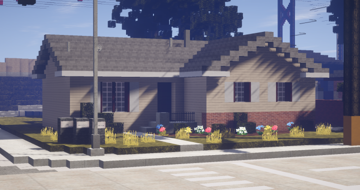 Popular Server Project : Early 80's House - By Bobox0807