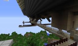 "Boeing 777 ""Lufthansa"" + Prydwen из игры Fallout 4 Minecraft Map & Project"