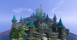 Disney castle Minecraft Map & Project