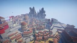 Novigrad inspired city Minecraft Map & Project